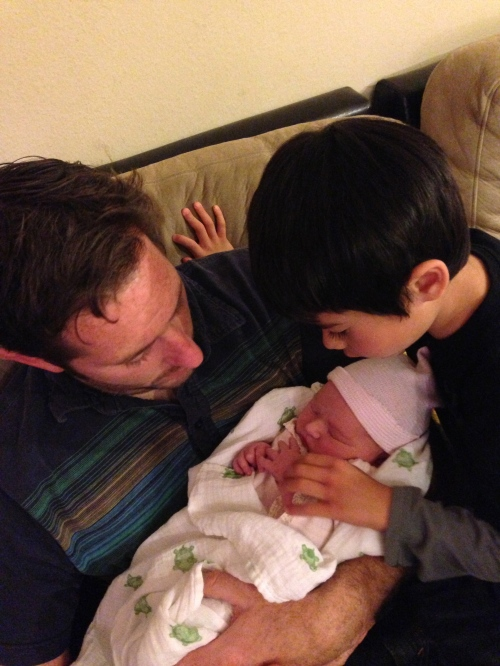 Uncle Jeff, Cousin Jake and Eliot...