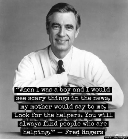 Relentlessly positive...