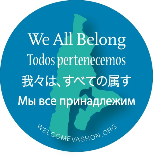 We All Belong Sticker