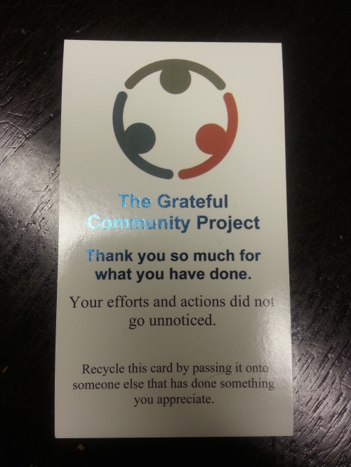 Grateful Community Project